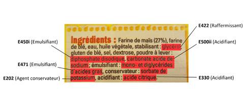 Les additifs alimentaires dangers alimentaires - Composition du sel de cuisine ...