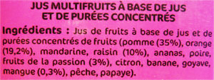 quel jus de fruit choisir dangers alimentaires. Black Bedroom Furniture Sets. Home Design Ideas