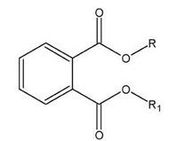 Formule topologique d'un phtalate