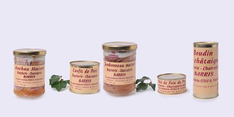 Boucherie Barris - Conserves