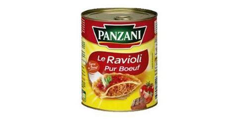Raviolis Pur Boeuf Panzani