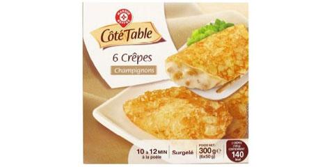Crêpes - Côté Table