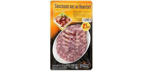Saucisson Sec au Beaufort