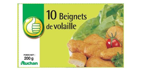 Beignets de Volaille - Pouce Auchan