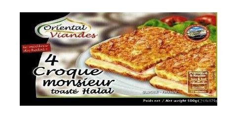Croque Monsieur - Toasté halal