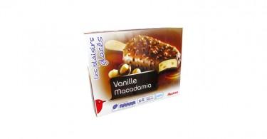Glace - Vanille-macadamia-auchan