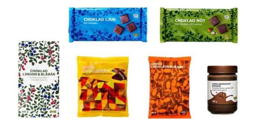 ikea rappel de produits chocolat s dangers alimentaires. Black Bedroom Furniture Sets. Home Design Ideas