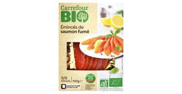 Éminces de saumon Bio - Carrefour