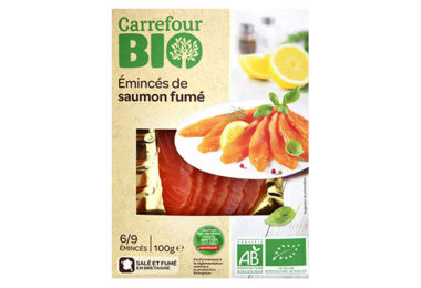 Éminces de saumon Bio - Carrefour