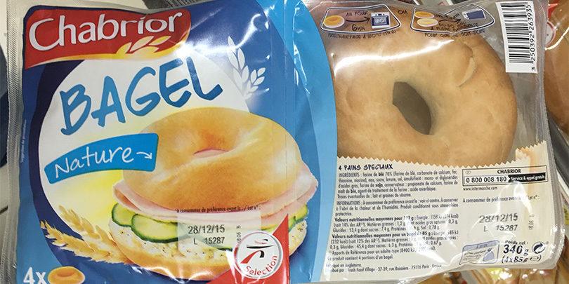 Bagel nature - Chabrior