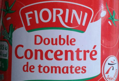 Double concentré de tomates - Chine