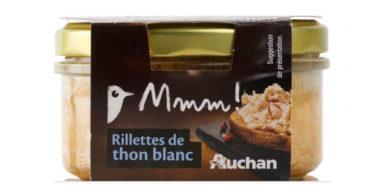 Rillettes de thon blanc - Auchan