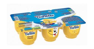 Danone Ptite Danette - saveur vanille