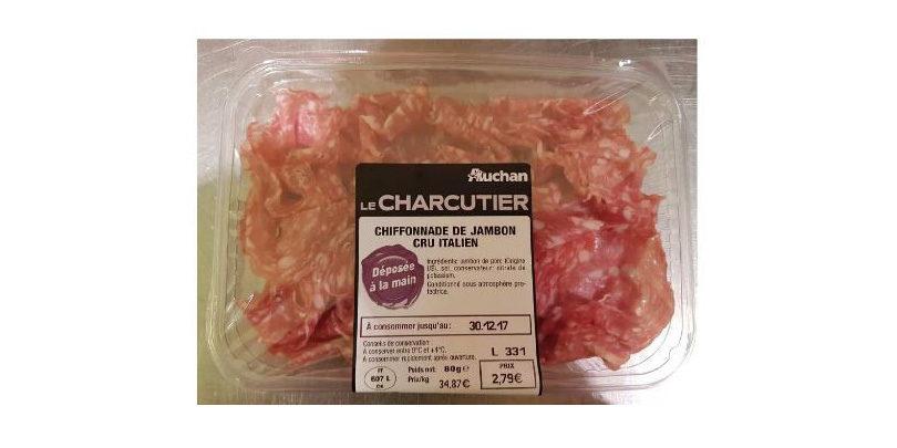 Chiffonnade de jambon - Auchan