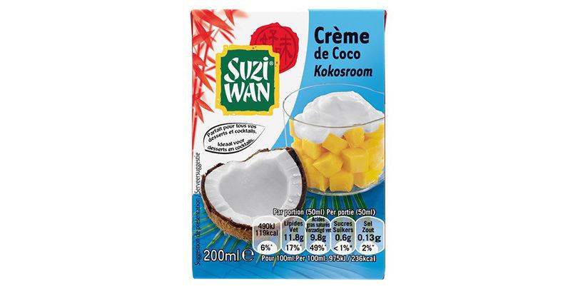 Crème de coco - Suzi Wan