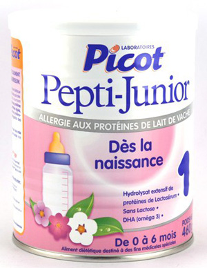 Lait infantil - Picot pepti - junior