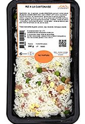 Barquette de riz à la cantonaise