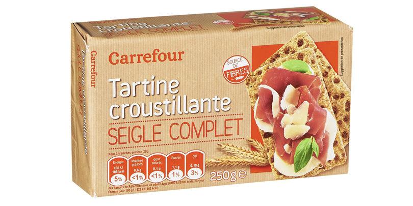 Carrefour - Tartine croustillante