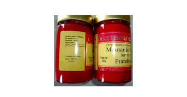 Mustard - Raspberry dish Times