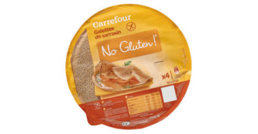 Carrefour - Galettes de sarrasin no gluten