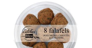 Falafels - Pois-chiches carottes coriandre