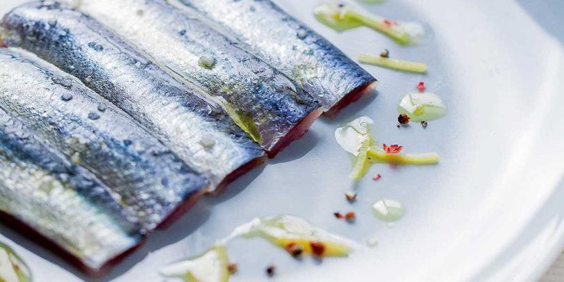 Sardines crues