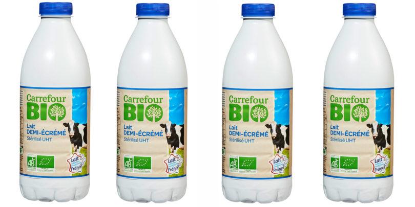 Lait Bio Carrefour