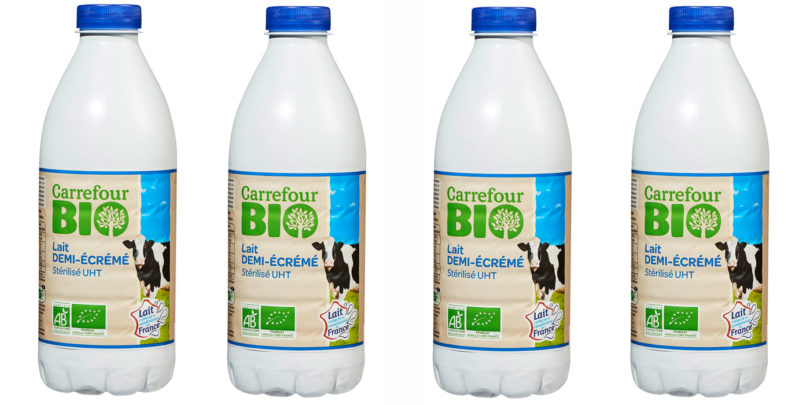 Carrefour Organic Milk