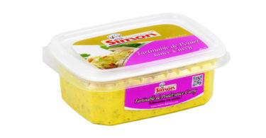 Tartinable Poulet sauce curry
