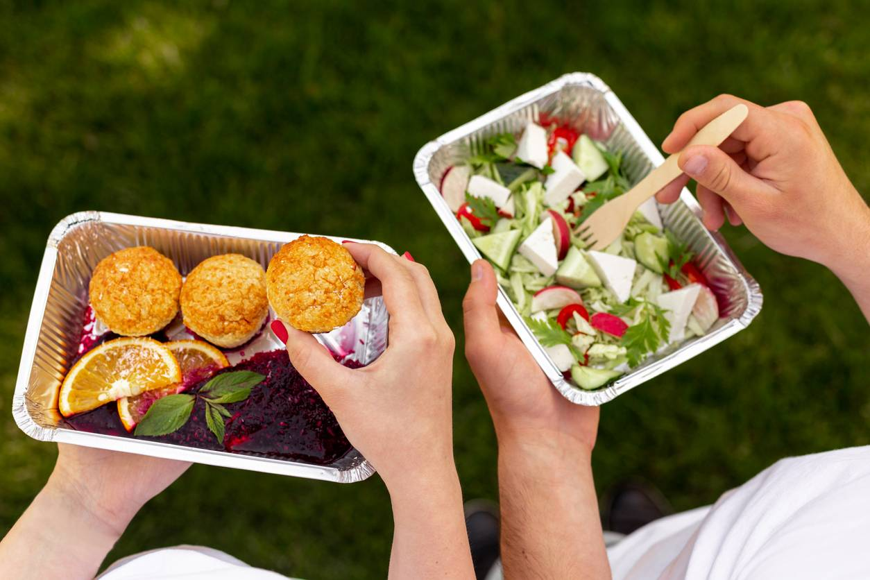 How to eat healthy during lunch break